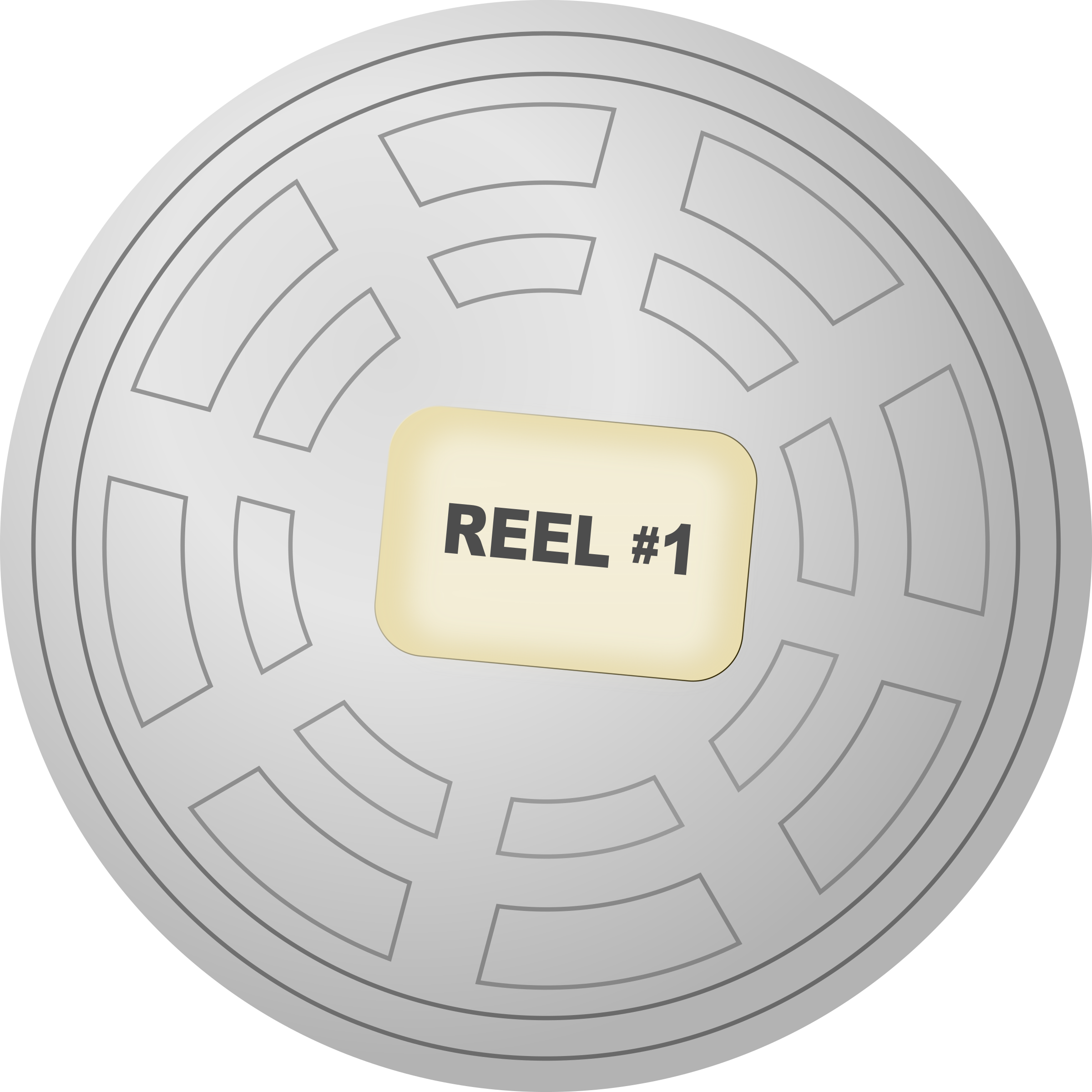 Cinema clipart reel. Motion picture film canister
