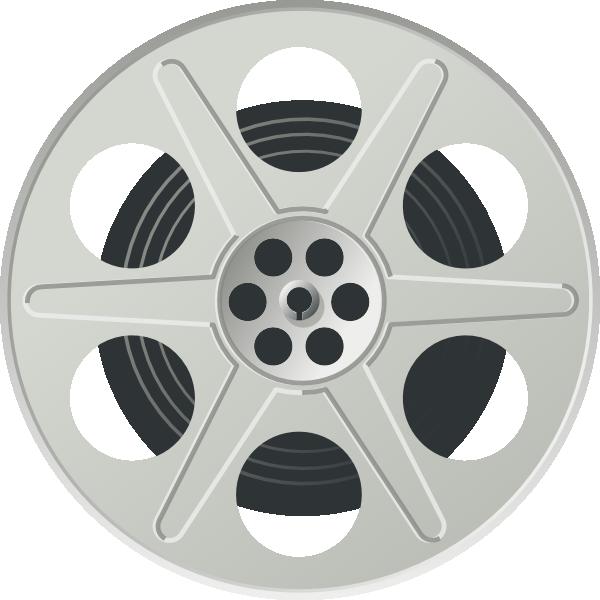 Movie clip art at. Cinema clipart reel