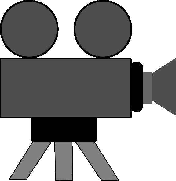Cinema clipart reel. Movie camera clip art