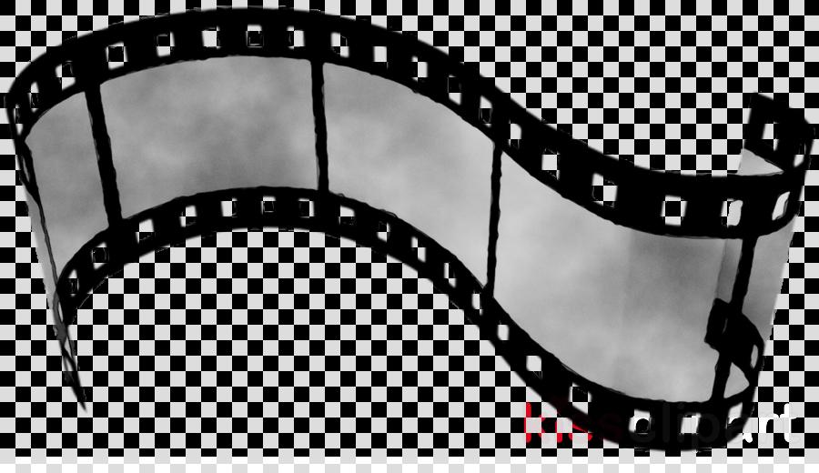 School black and white. Cinema clipart roll