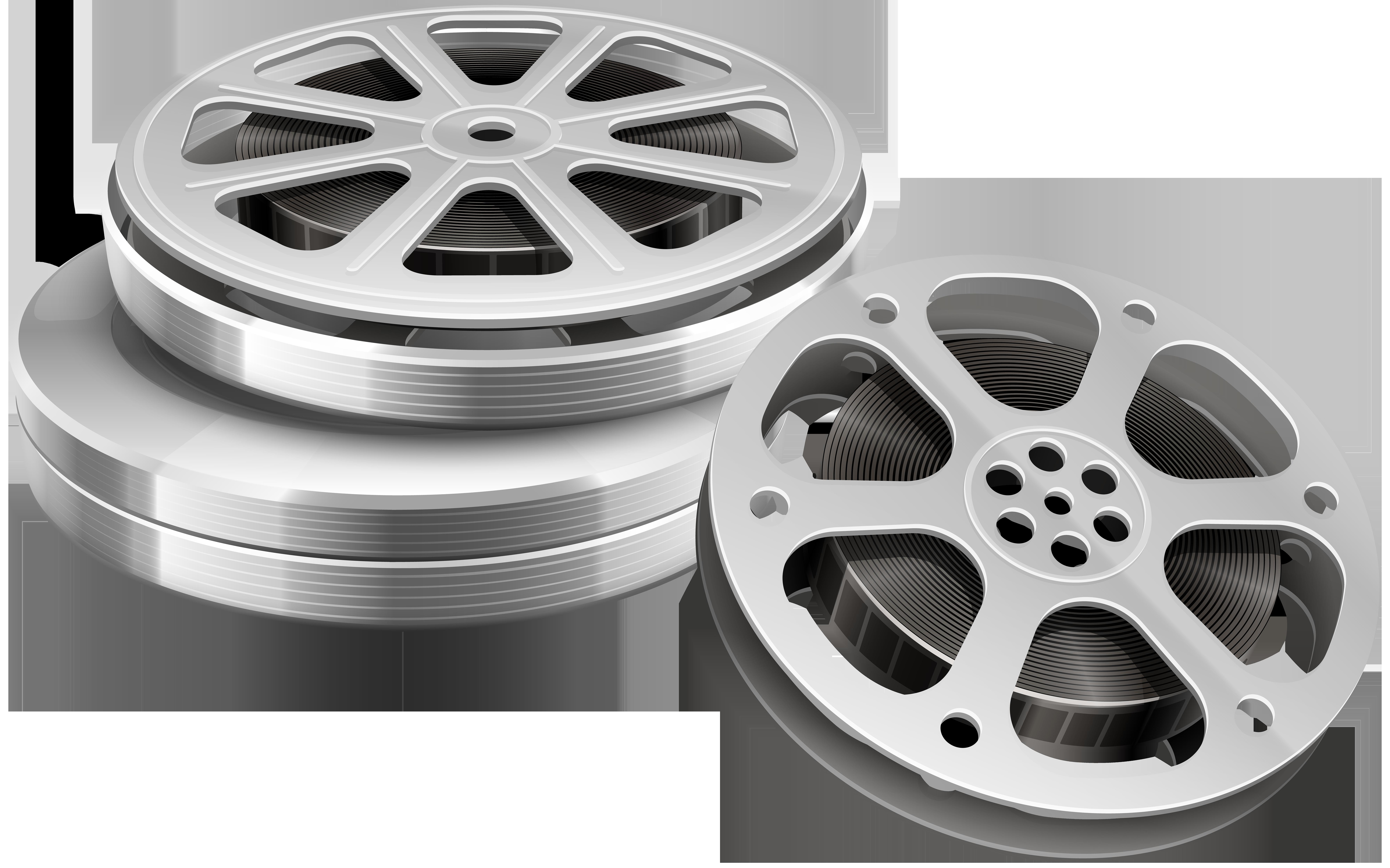 Film clipart wheel. Rolls png clip art