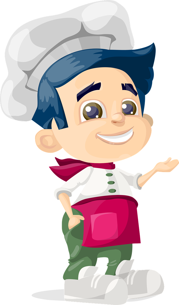 Free image on pixabay. Cook clipart cooking show