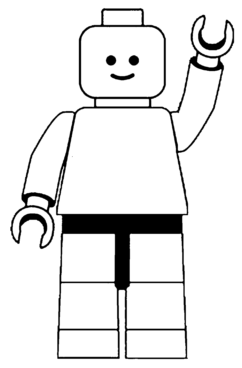 Man clip art black. Number 6 clipart number lego