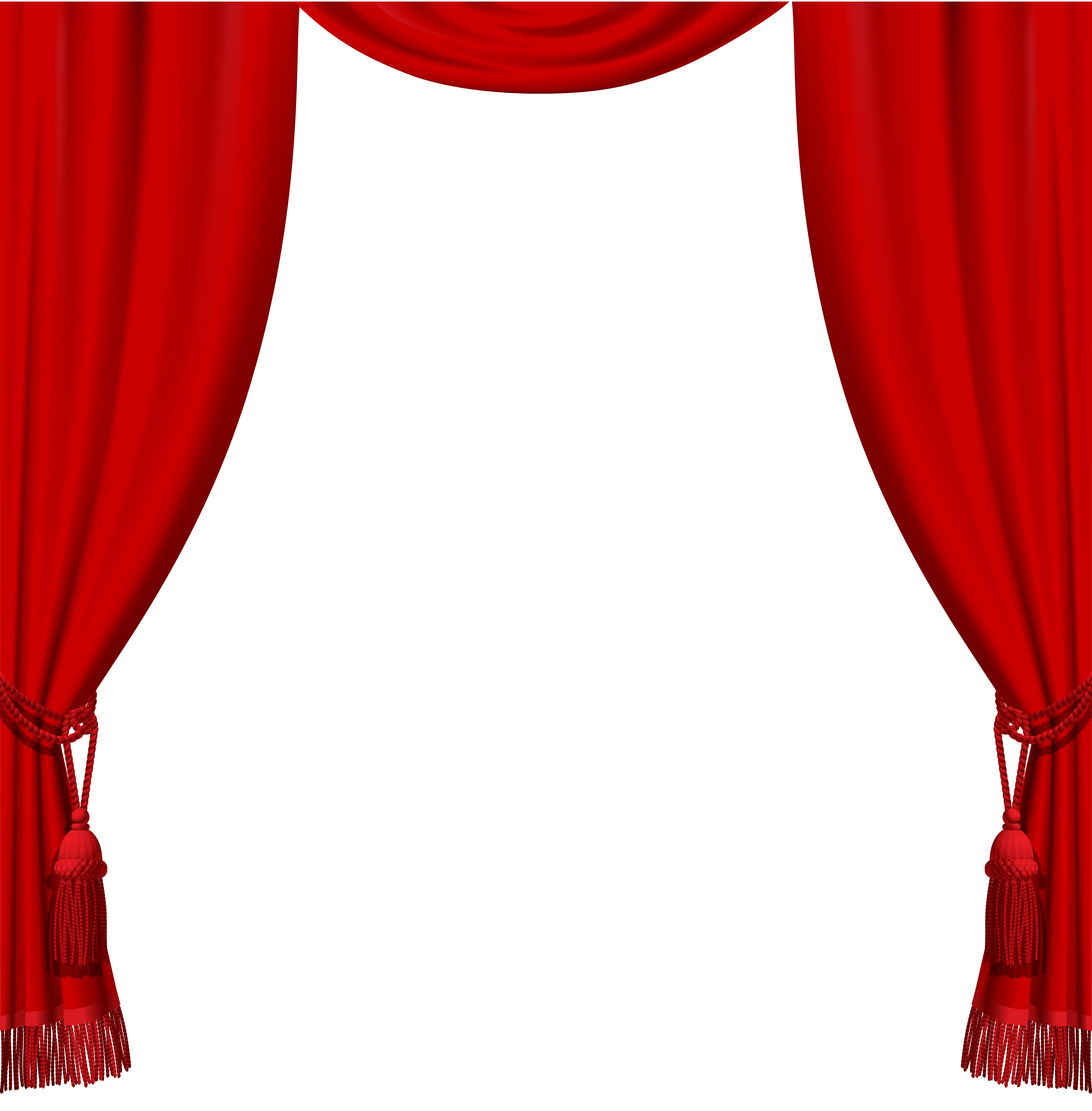 Win clipart curtain clipart. Transparent red curtains with