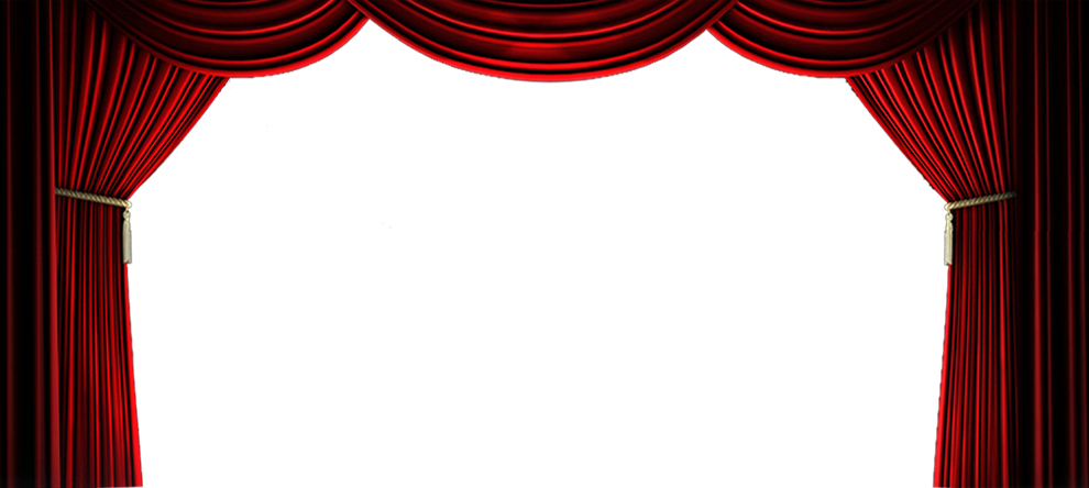 Movie theatre transparent png. Curtains clipart empty stage
