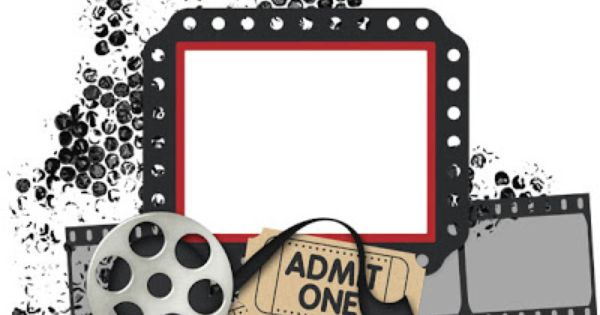 Free movie theme cliparts. Cinema clipart themed