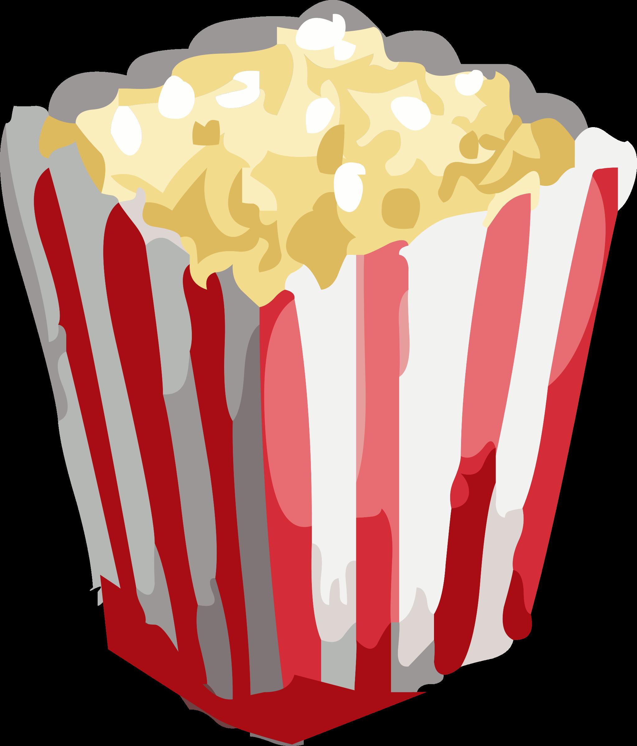 Movies spilled popcorn