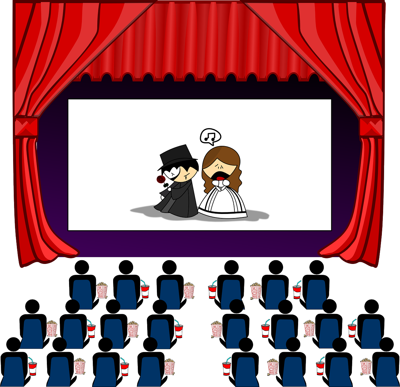 Blog archives one drama. Film clipart movie theme