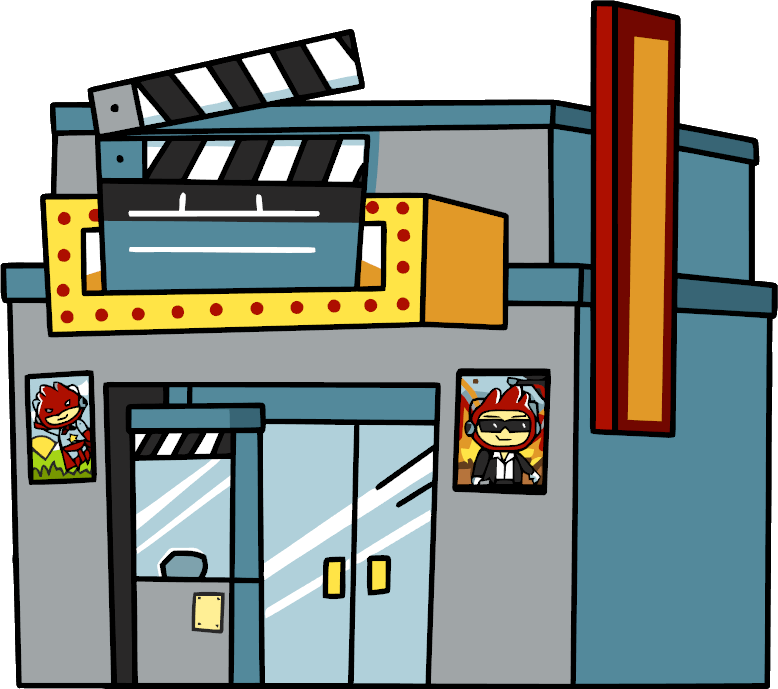 Image theatre png scribblenauts. Movie clipart movie theater