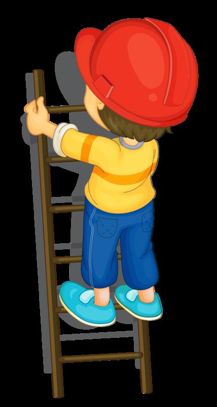 Clipart books ladder. Personnages illustration individu personne