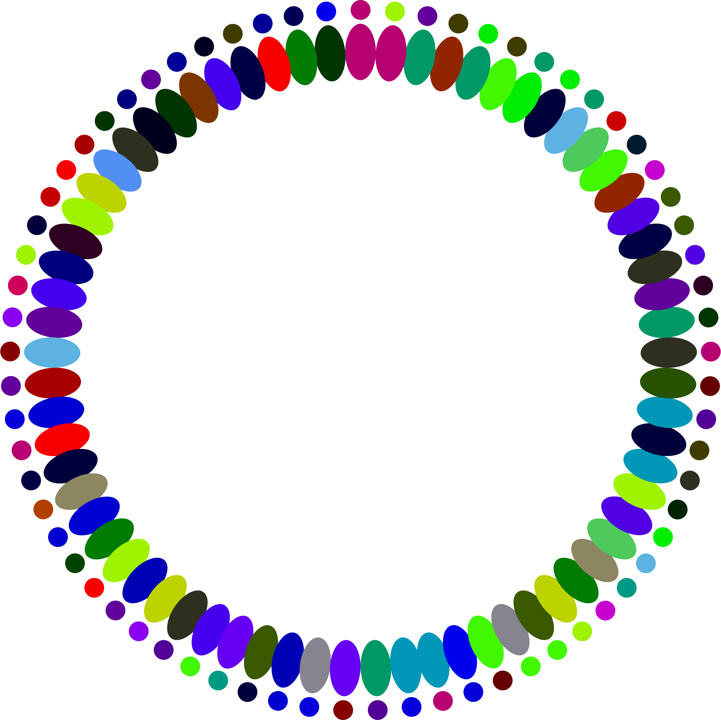 Circle clipart abstract. People big image png