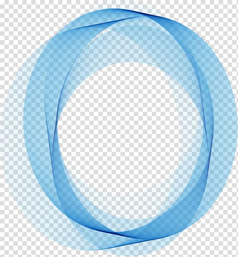 Circle clipart abstract. Border blue and black