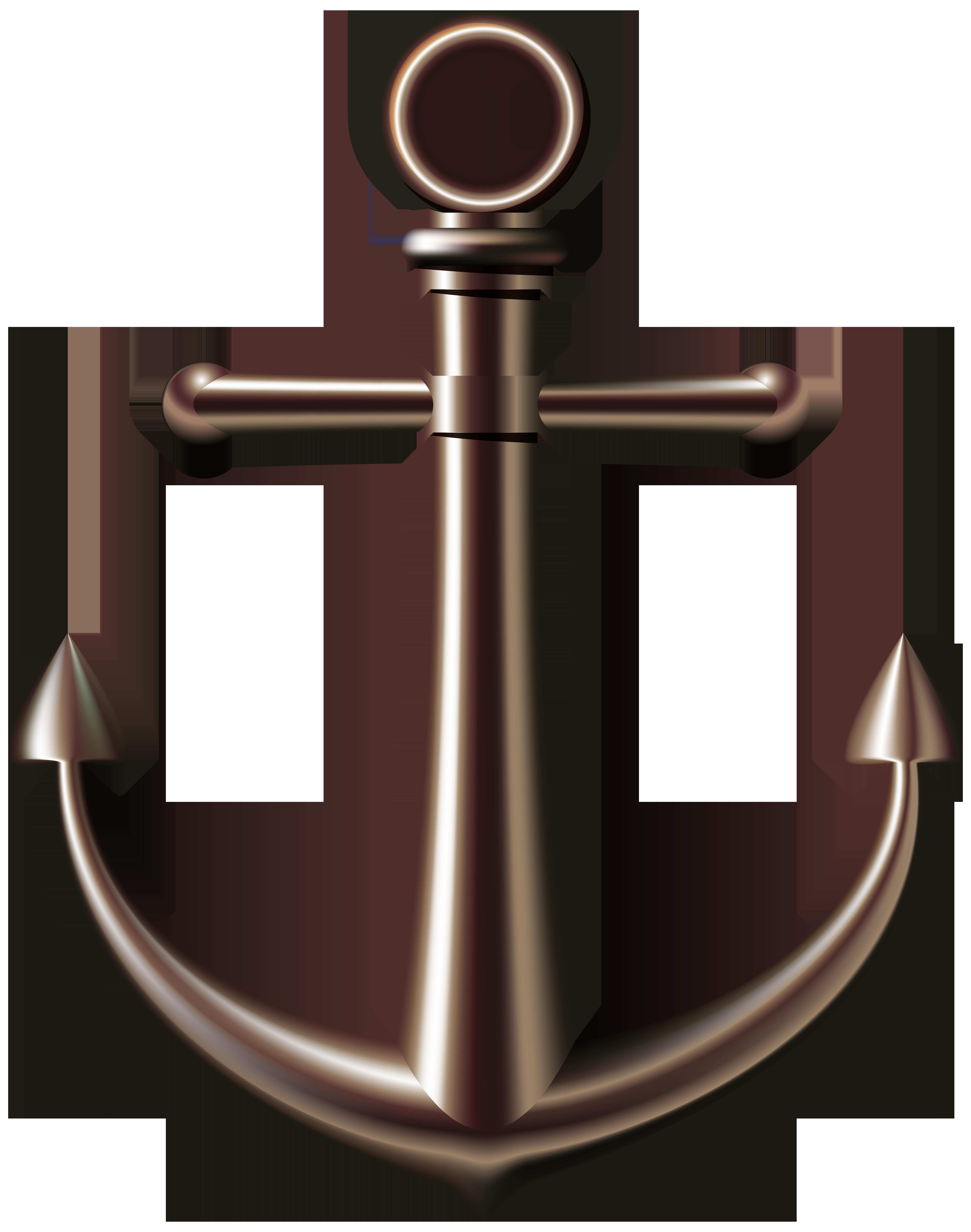 Anchor clipart. Metal at getdrawings com