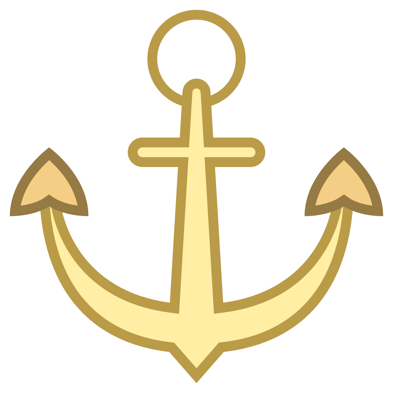 Picture of an image. Circle clipart anchor