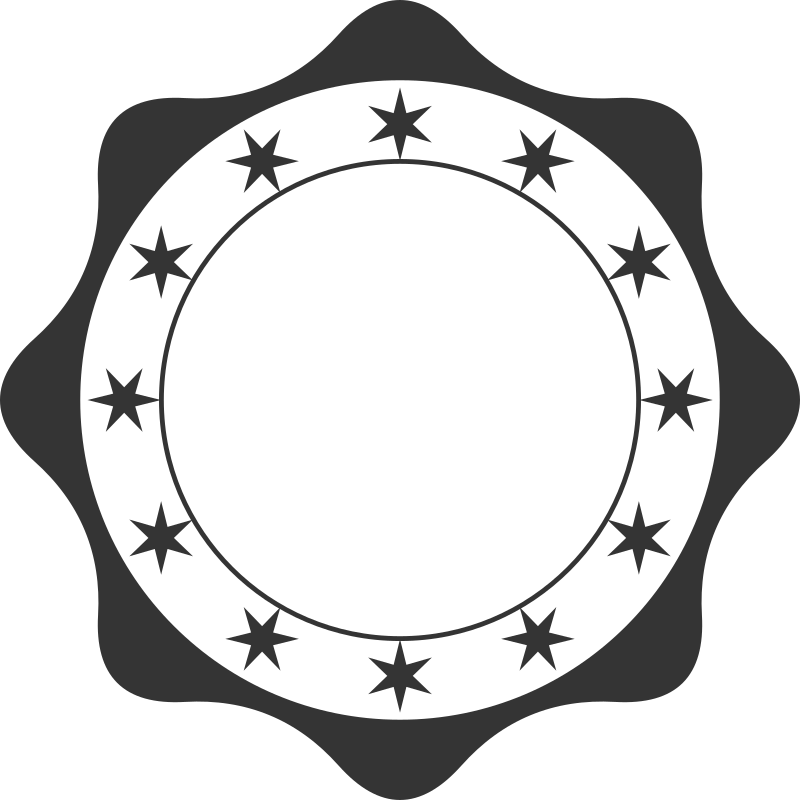 Retro medium image png. Circle clipart badge
