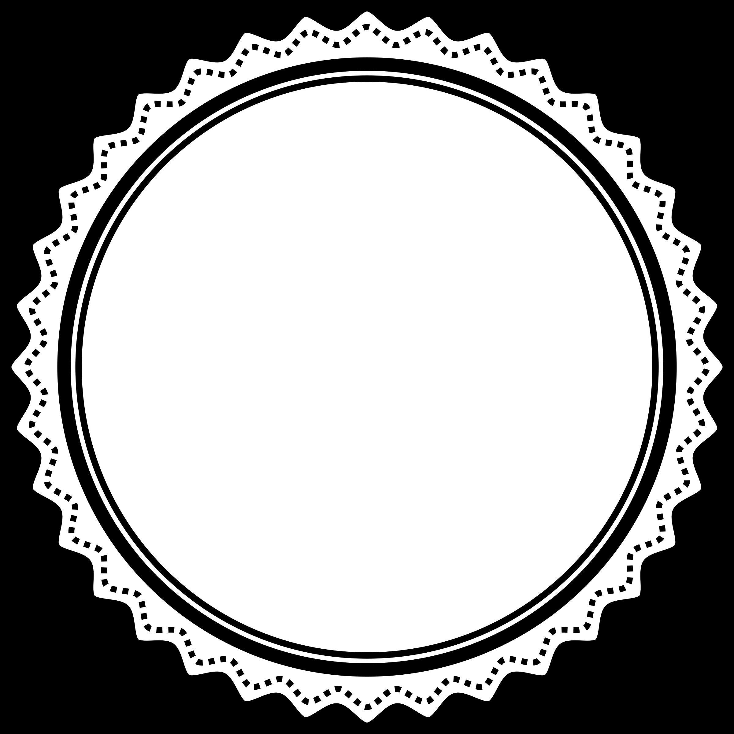 Circle clipart badge. Fancy big image png