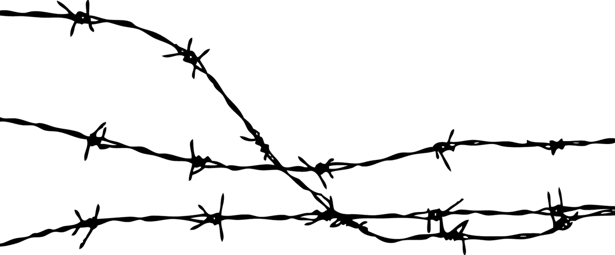 Circle clipart barbed wire. Transparent png stickpng