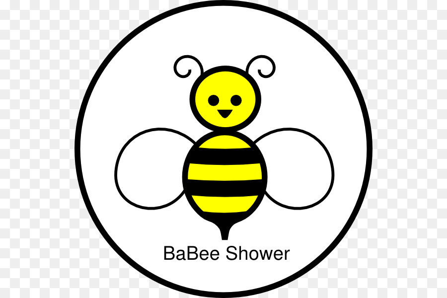 Clipart bee circle. Baby transparent clip art