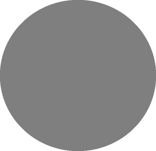 Grey Circle Clip Art at Clker