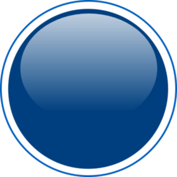 Circle clipart blue. Glossy button md free