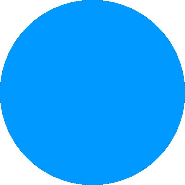 Blue Circle Clip Art at Clker