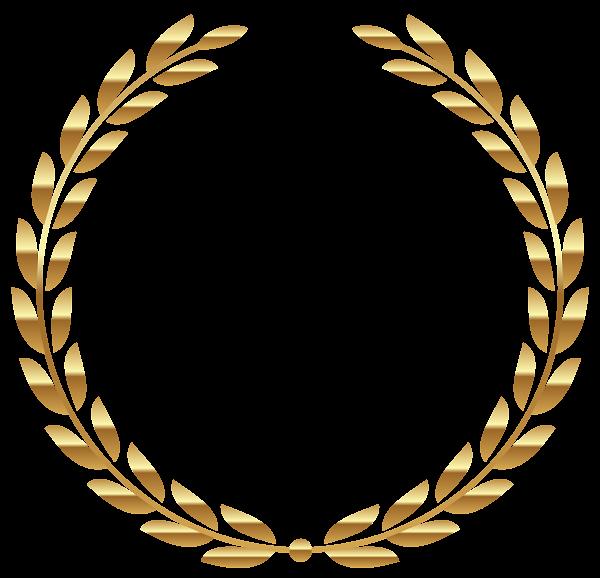 Transparent gold wreath png. Circle clipart boho