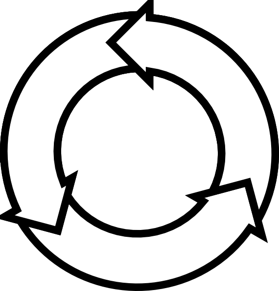 Cycle edit of ocal. Circle clipart book