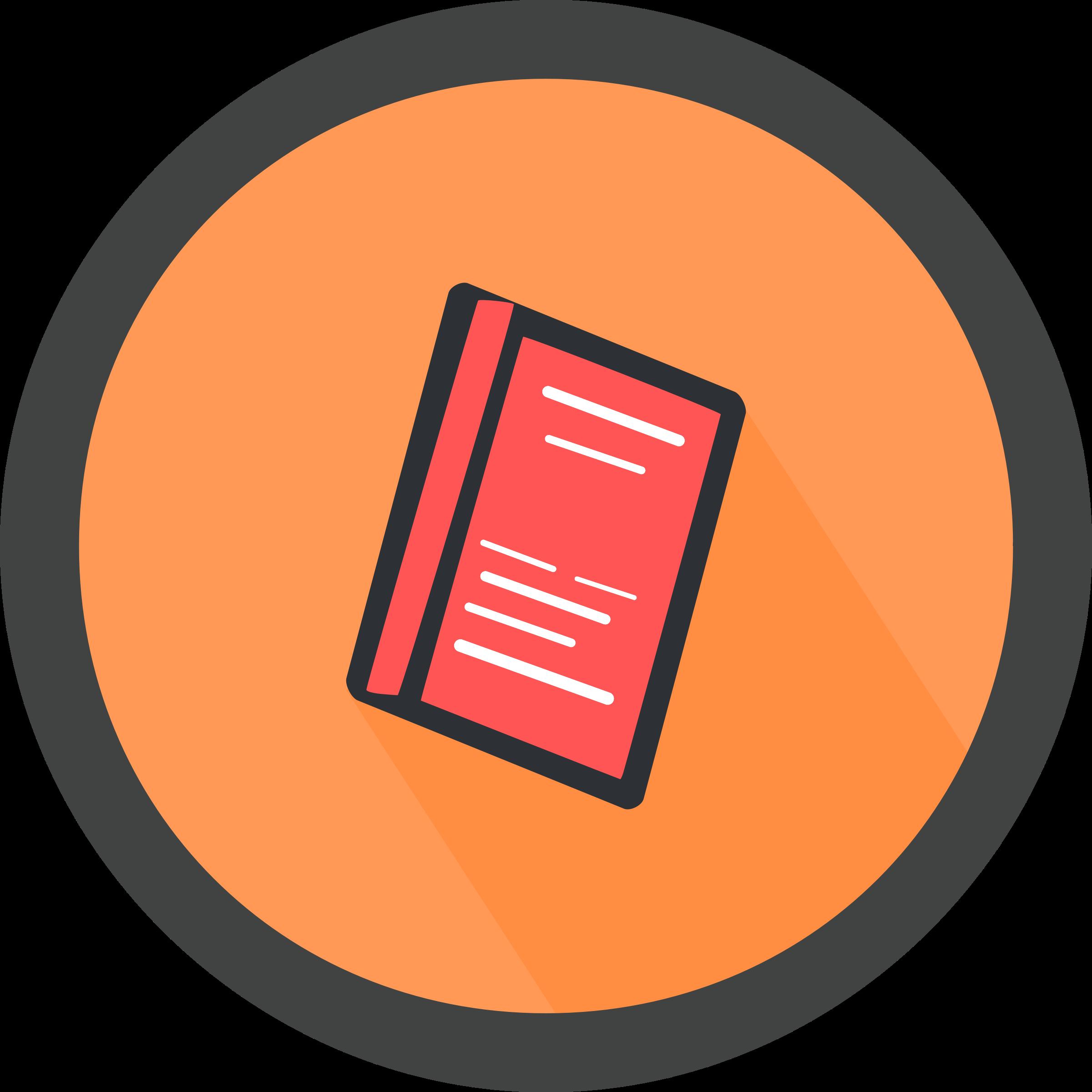Book. List clipart icon