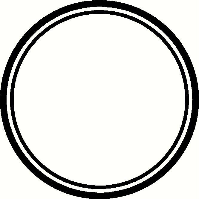 Border monogram and more. Circle clipart borders