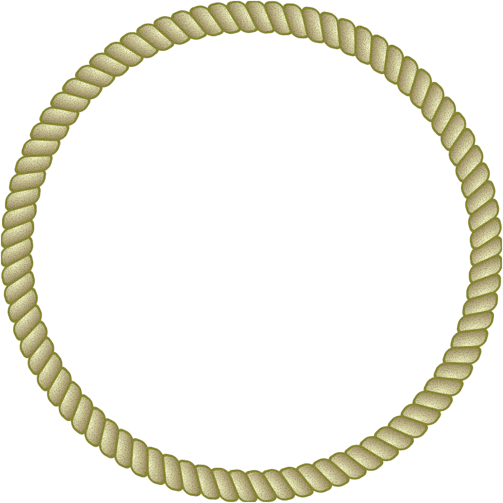 Onlinelabels clip art rope. Circle clipart braided