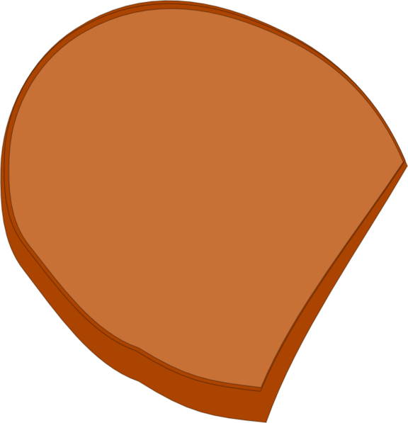 Circle clipart bread. Slice clip art at