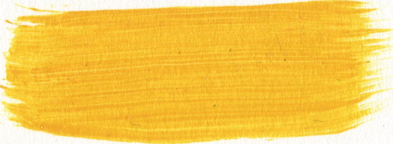 Paintbrush clipart acrylic paint.  yellow brush strokes