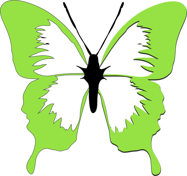 Clipart tree butterfly. Courtney clip art at