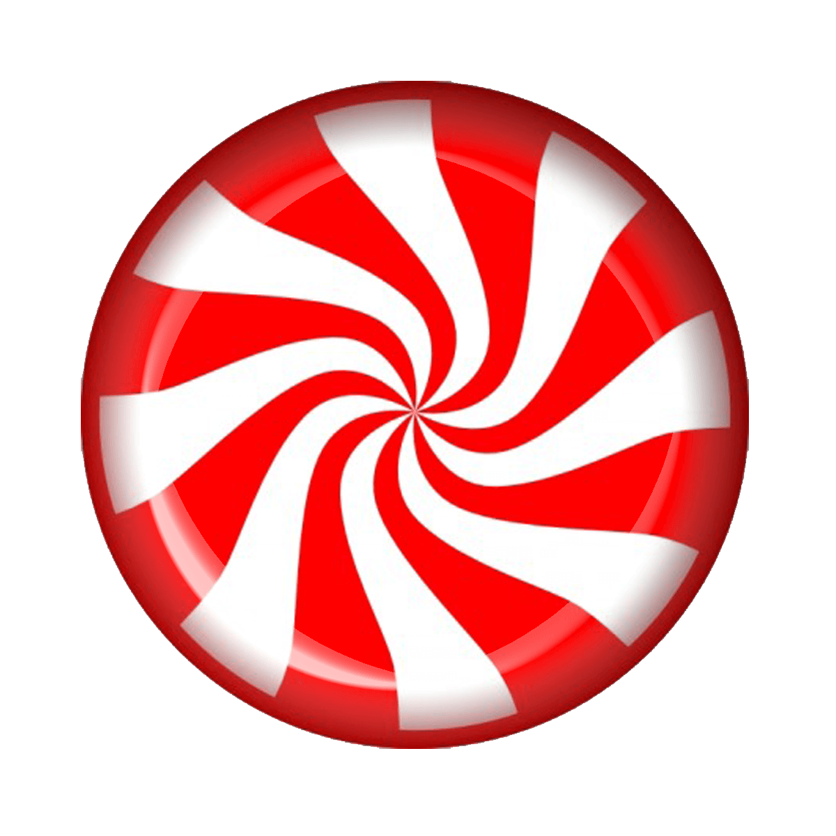collection of peppermint. Clipart circle candy