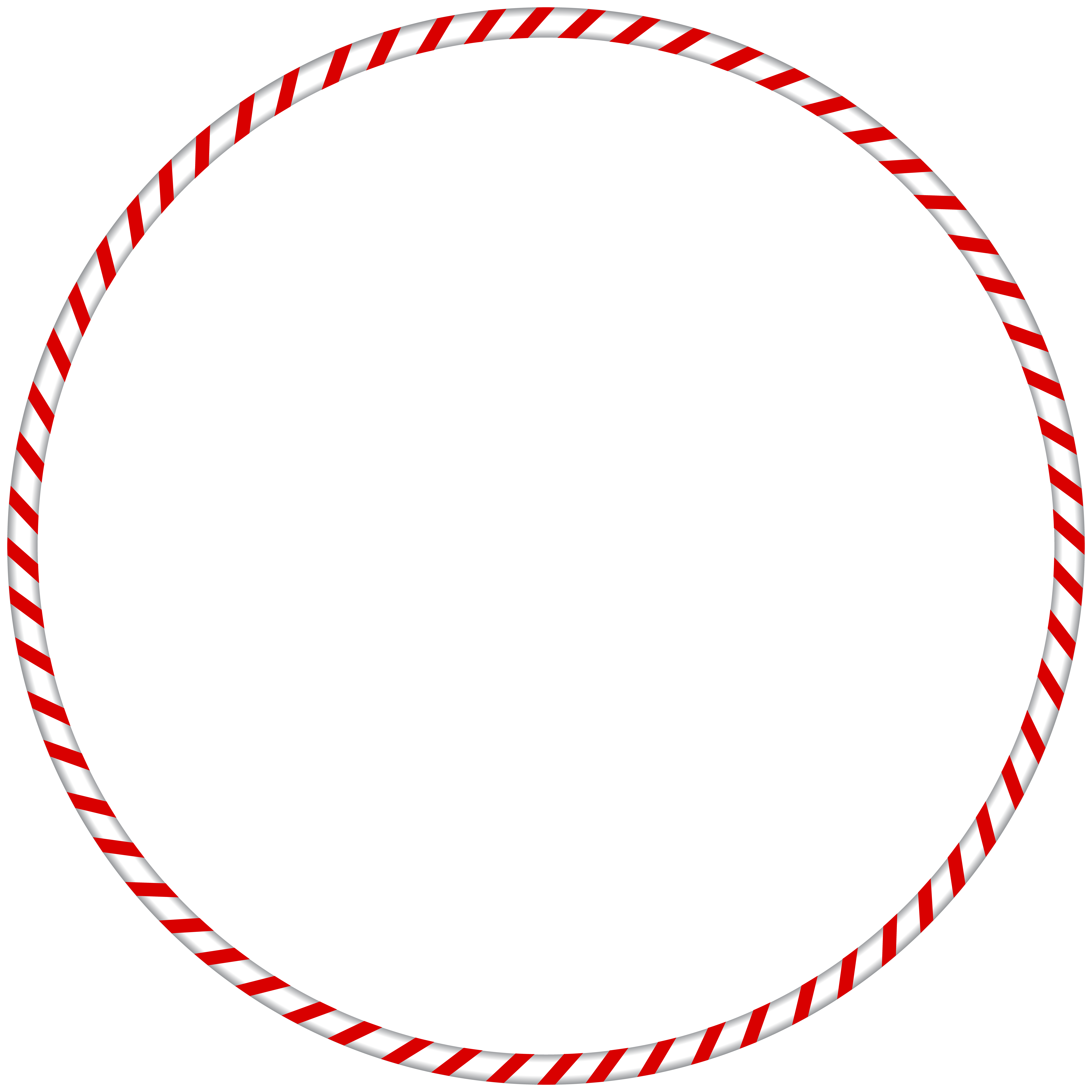 Candy cane border png. Christmas spearmint round frame