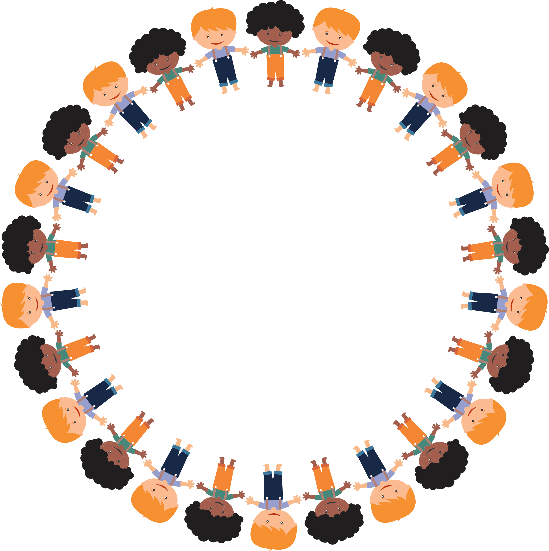 Boys big image png. Circle clipart cartoon