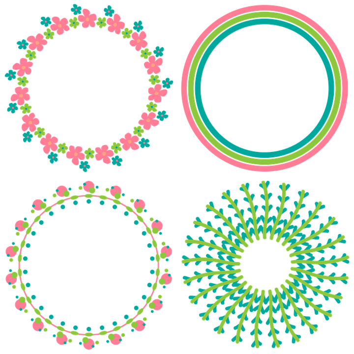 Free image on pixabay. Circle clipart chalkboard