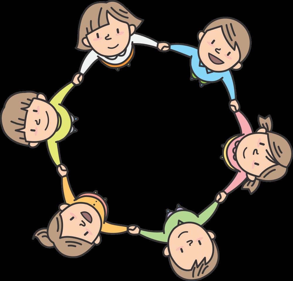 Circle clipart child. Onlinelabels clip art children