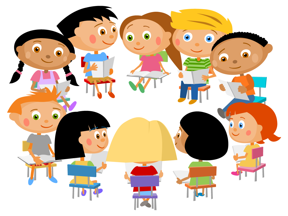 Circle clipart child. Reading circles for everyone
