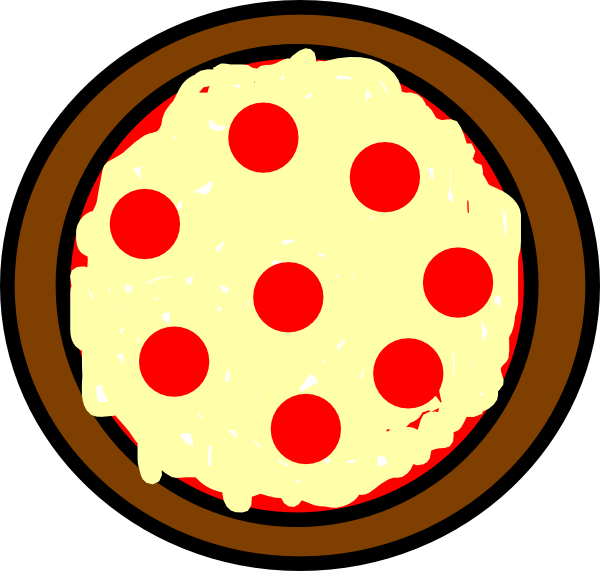 Fractions clipart pizza crust.  collection of circle