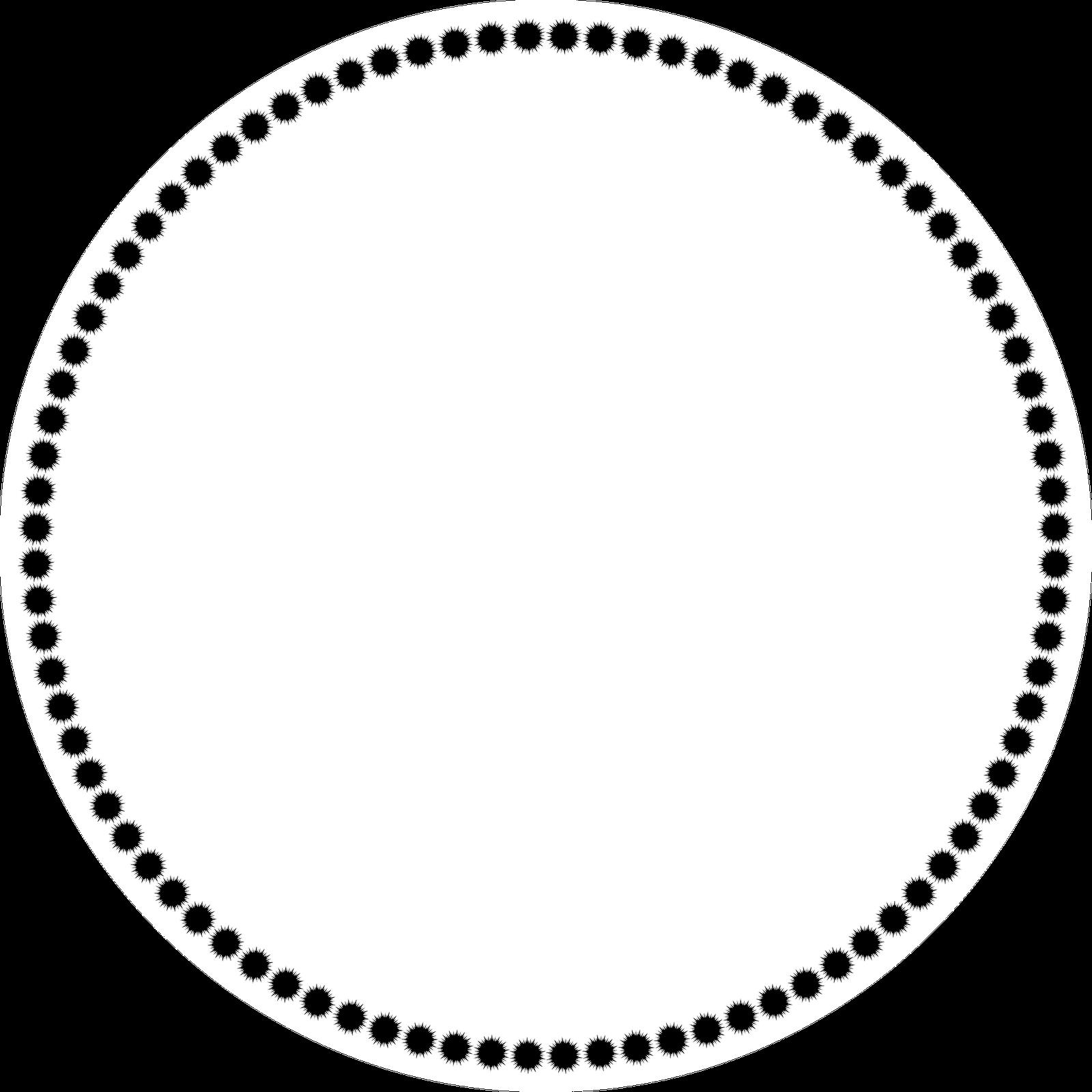 Circle clipart clear background. Black transparent