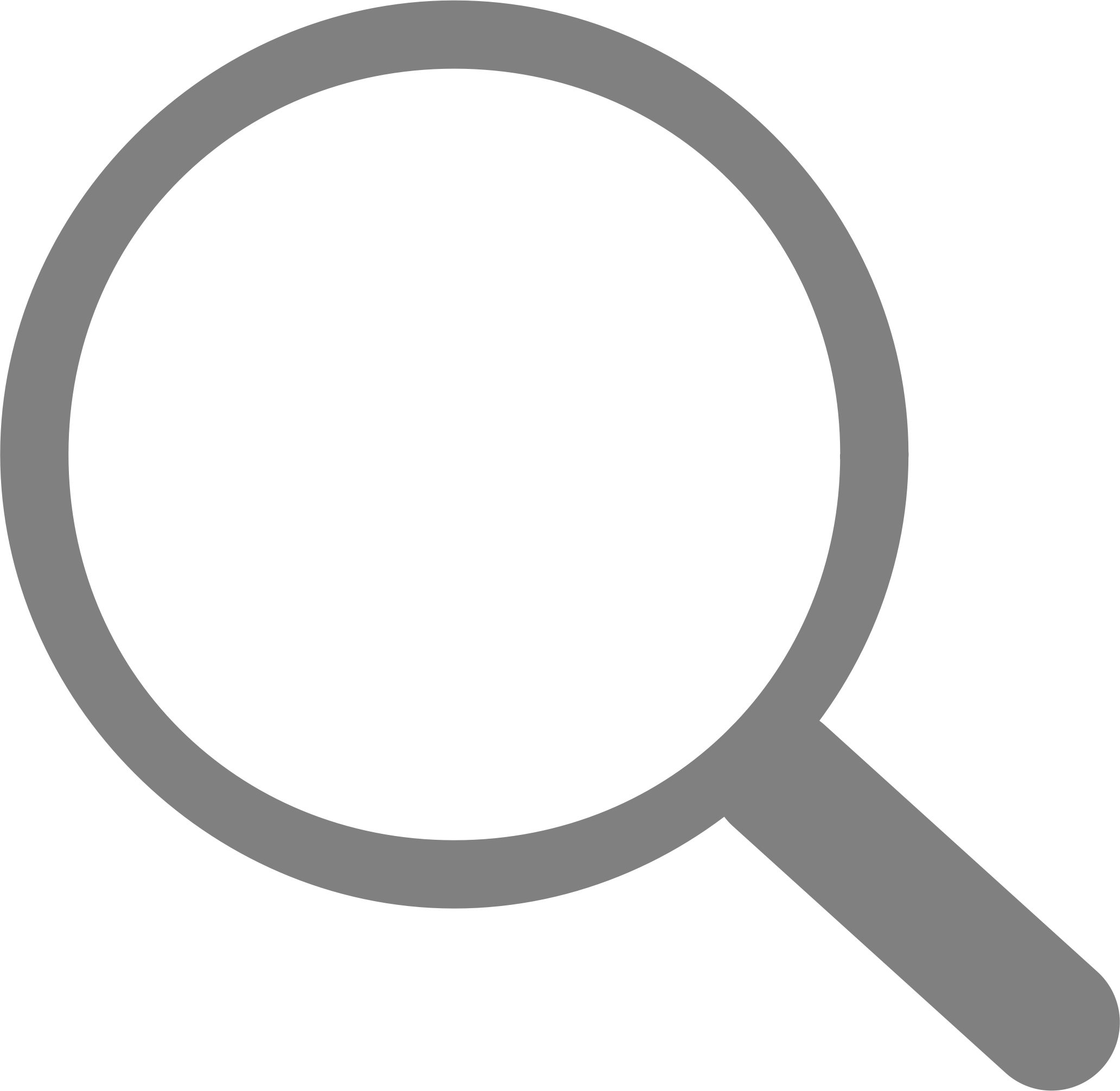 Search icon png. Neat simple transparent stickpng