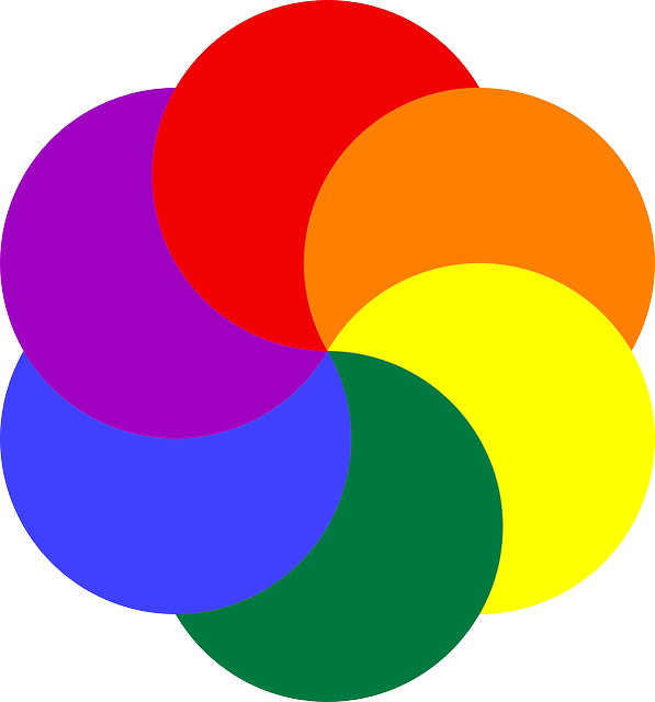 Free image on pixabay. Circle clipart colored