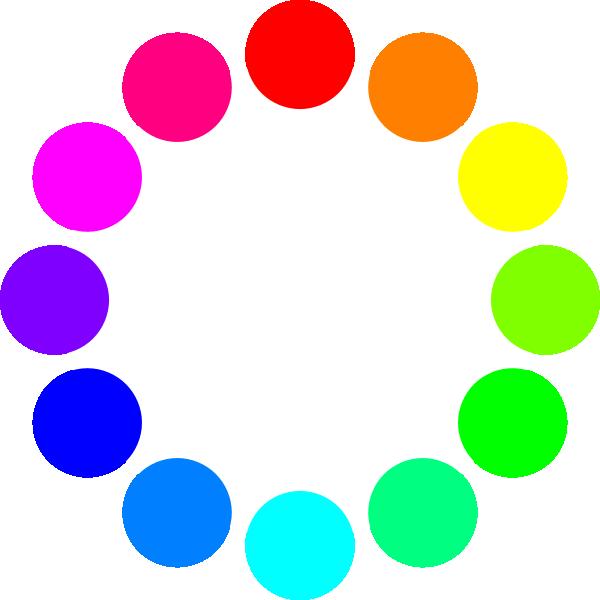 color circles clip. Circle clipart colored