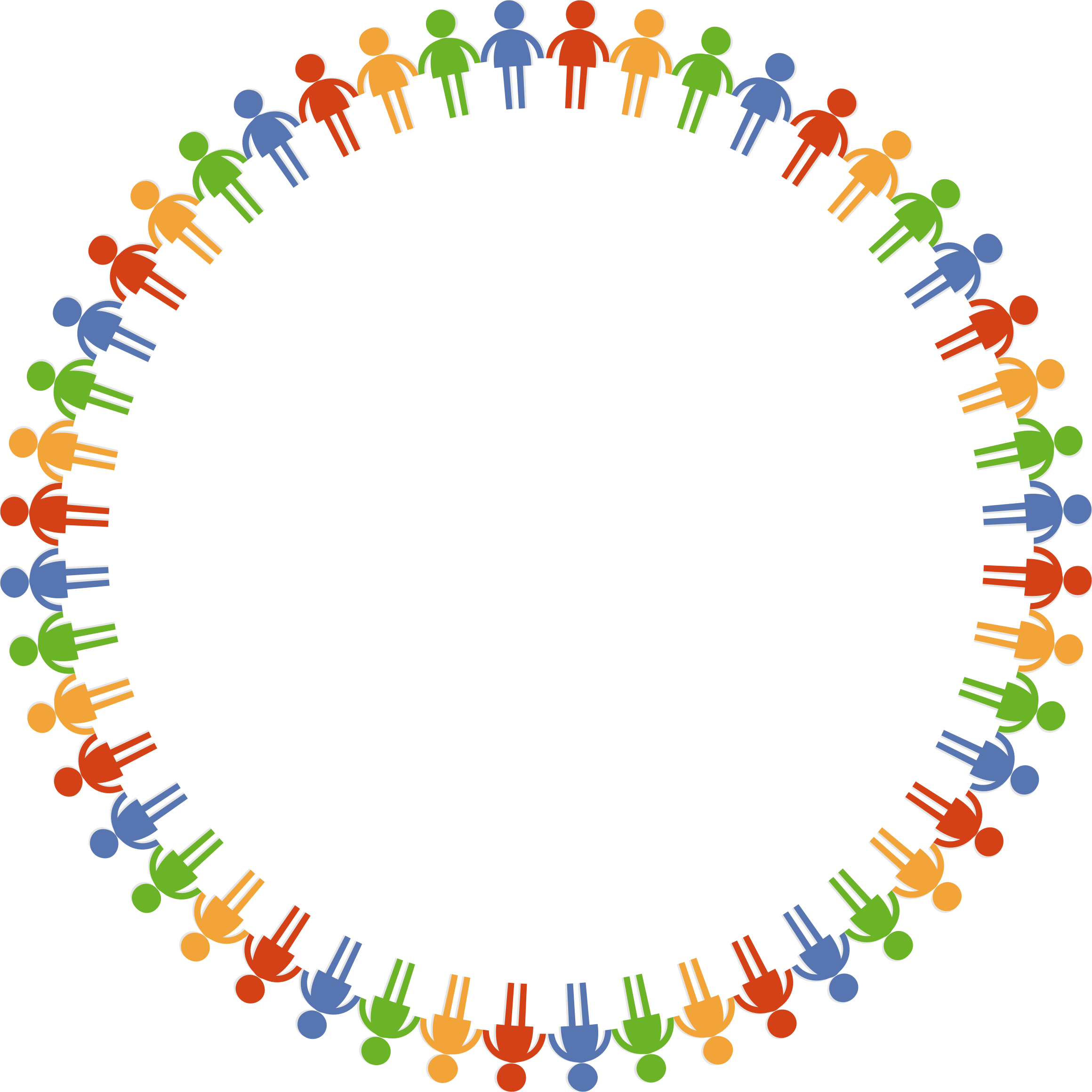 Circle clipart community. Big image png