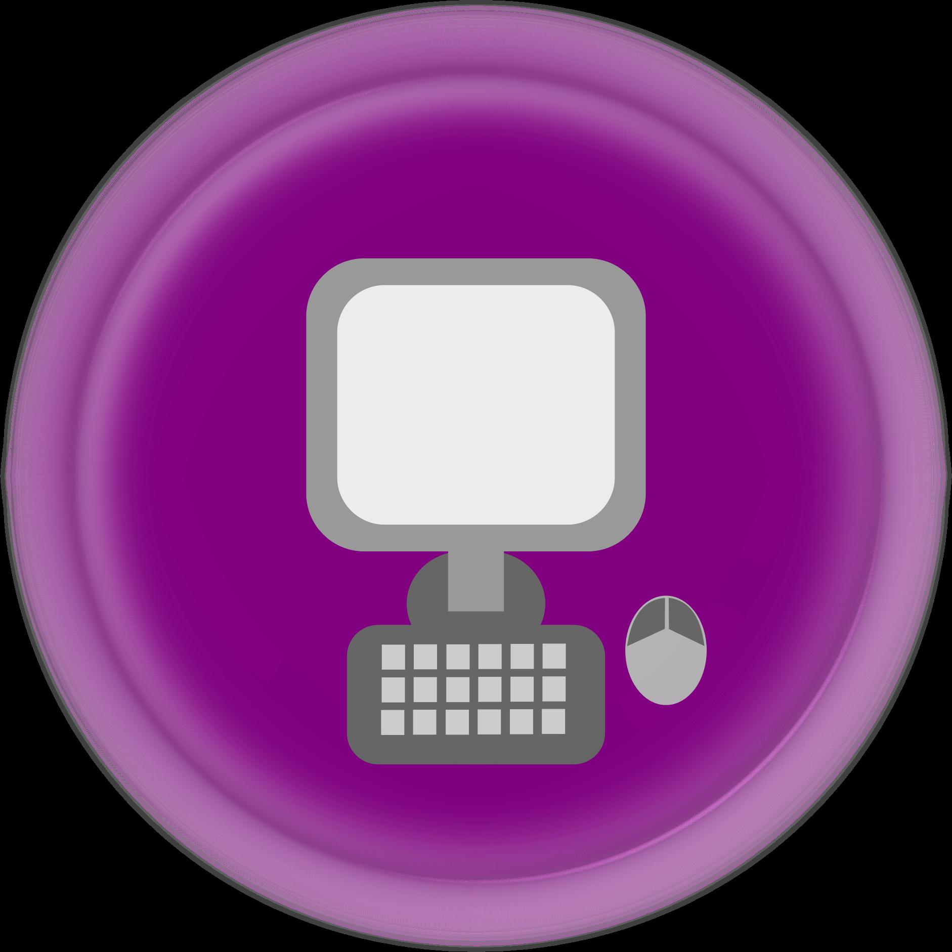 Icon big image png. Circle clipart computer