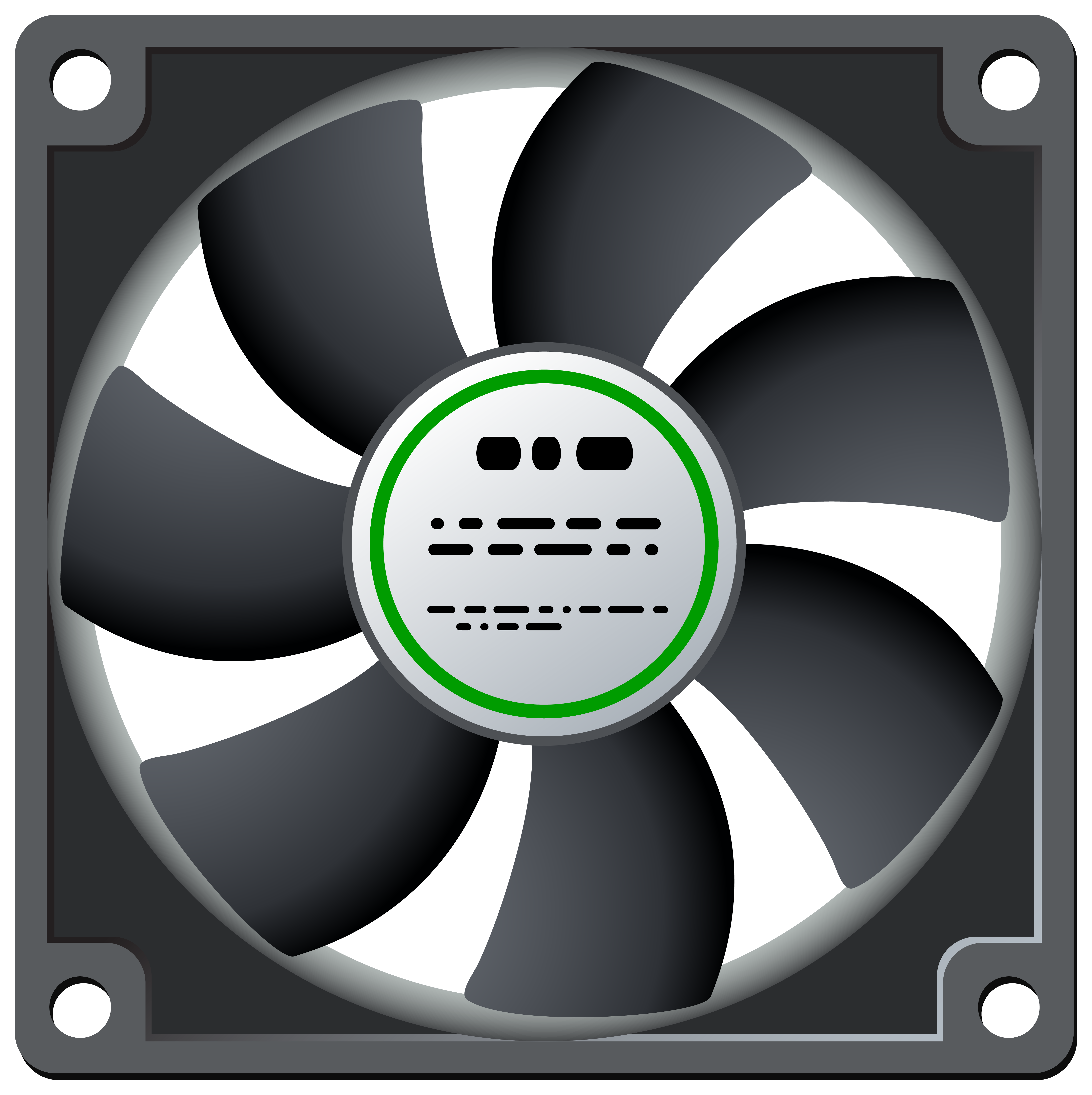 Standard fan png best. Circle clipart computer