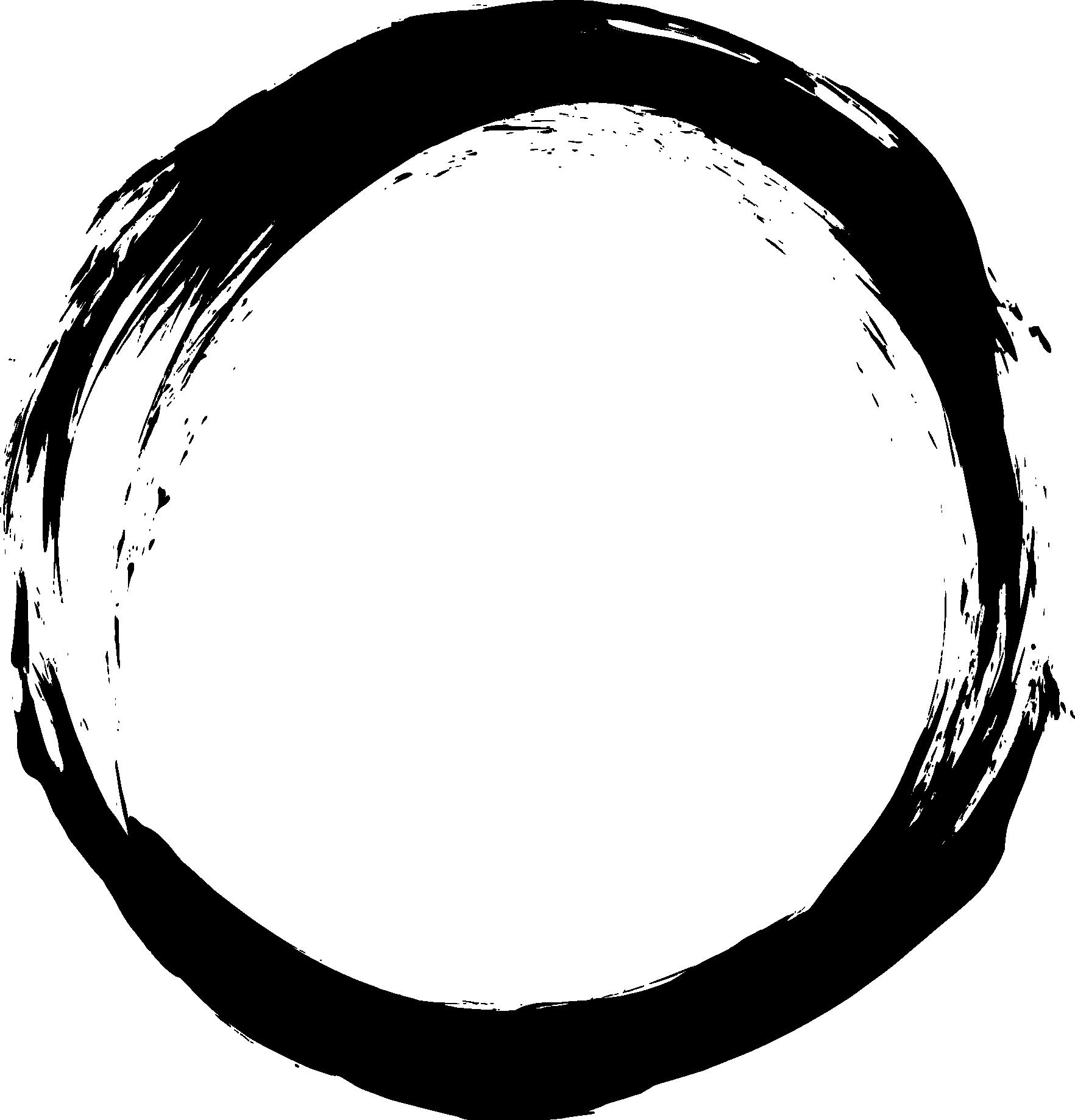 White circle frame png.  grunge transparent onlygfx