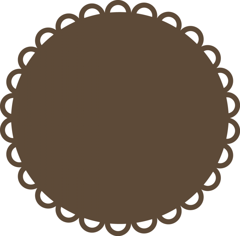 collection of cute. Scrapbook clipart circle