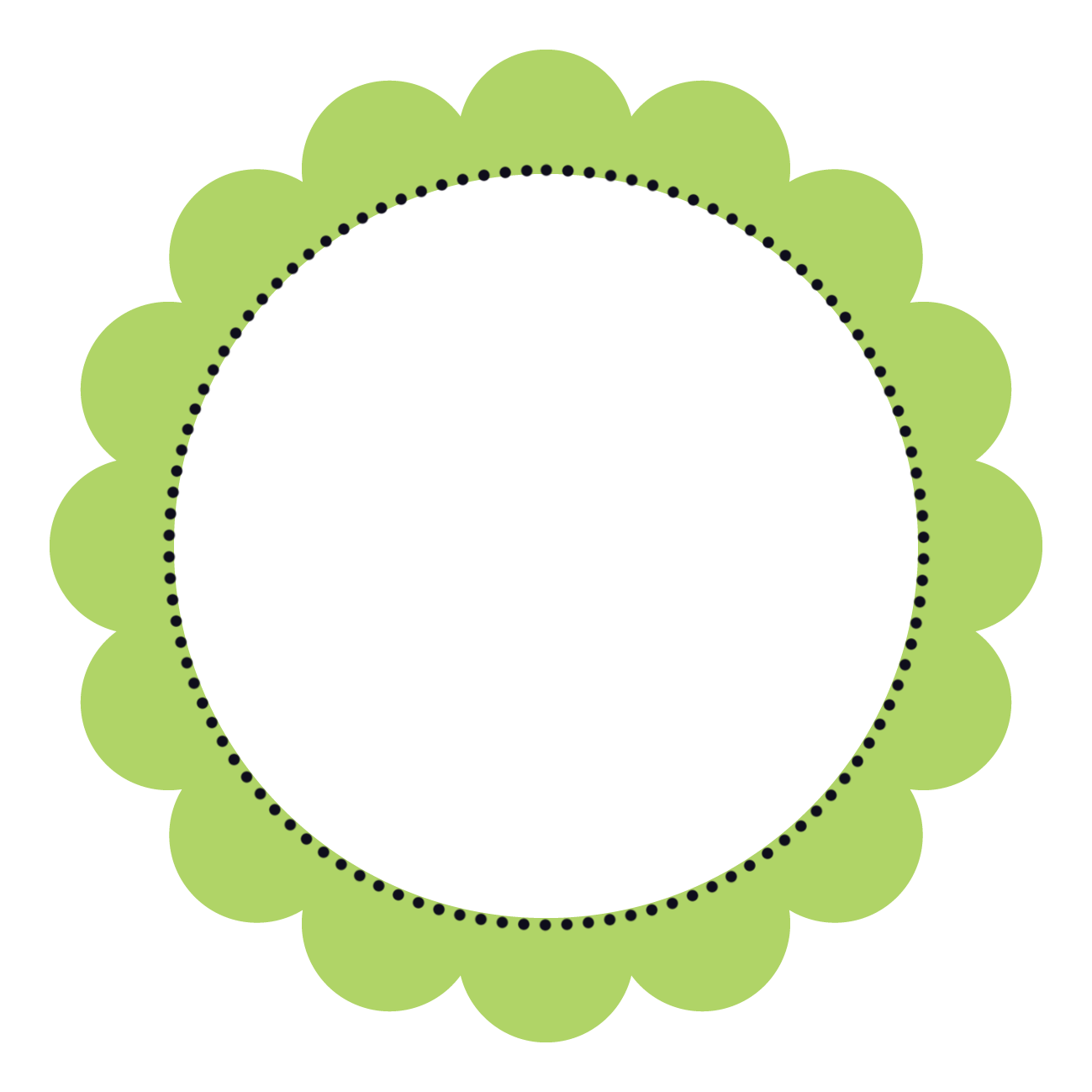 circle clipart cute